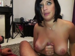 European French Handjob  Pov