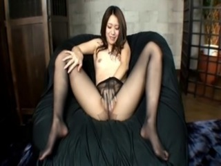 Asian Japanese Masturbating Pantyhose Teen