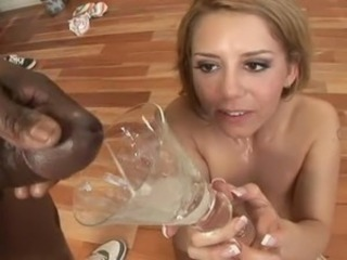 Interracial Swallow Teen