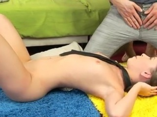 Petite cutie Gracie getting ass fucked