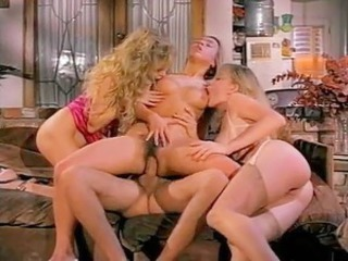 Spicy beach girls surrounding huge boobs from retro porno