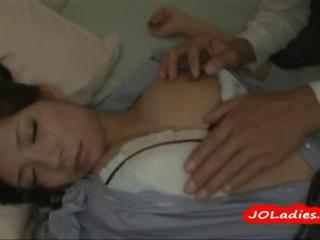 Asian Japanese  Nipples Sleeping