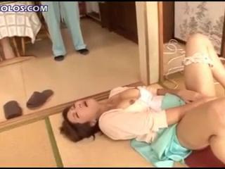 Asian Japanese Masturbating
