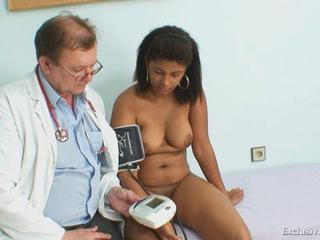 Chubby Doctor Ebony Interracial