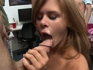 Teen girls playing sucking cock marathon