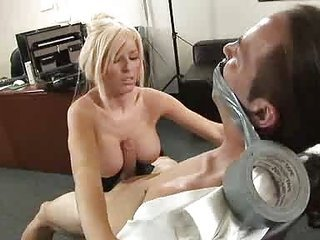 Big Tits Blonde Fetish  Office Secretary Tits job
