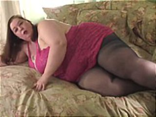 Big sweeping with huge titties poses and gets naked to show her ass