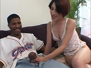 Handjob Interracial Lingerie Teen