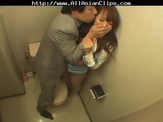 Asian Forced Japanese Toilet