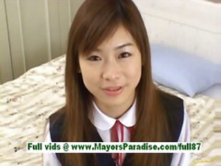 Ami hinata from idol69 petite asian girl at house talking
