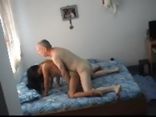 Amateur Asian Daddy Doggystyle Interracial