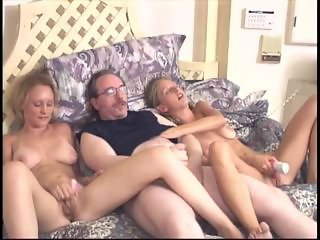Daddy Daughter Family  Mom Old and Young Teen Threesome Toy