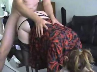 Hot Cougar get fucked by his young lover