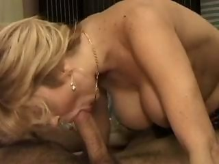 Italian Hairy Busty Blonde In Bed By TROC