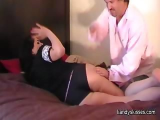 Spanish speaking model spanked