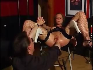 Anal Fisting Mature Stockings