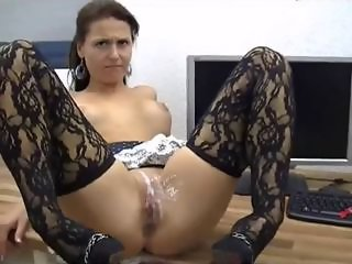 Creampie  Stockings