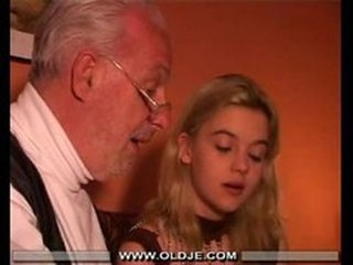Cute Daddy Daughter Old and Young Teen