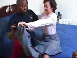 Lady Marie Penetrated By Black C...