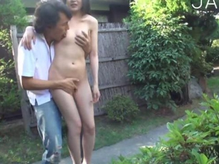 Amateur Asian Japanese Nudist Outdoor