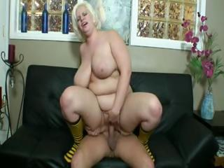 Big Tits Blonde  Natural Riding