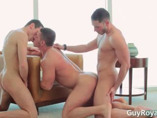 Sexy gay hunks Marc Dylan and Rylan Shaw part3