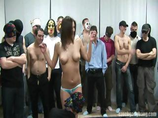 Amateur Gangbang Party Teen