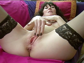 Masturbating  Pussy Stockings