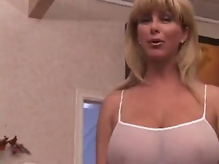 Amazing Big Tits Cute Lingerie  Natural