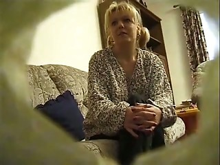 British Blonde Tanya fucked at home.