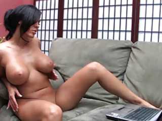 Amazing Big Tits  Natural Solo