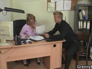 Mature Office Boss Forces Him Fuck Her Hard Sex Tubes