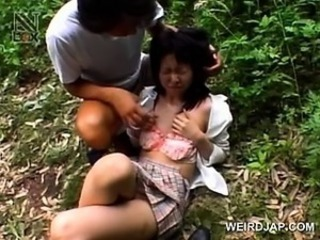 Teen asian girl sexually abused gets a hot pussy creampie