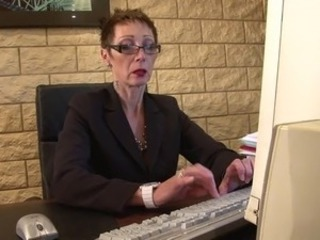 Glasses Mature Office Secretary
