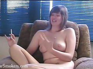 Amateur Amazing Cute Smoking Teen