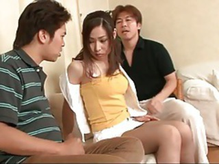 Asian Japanese Teen Threesome