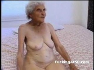 Really old wrinkled granny sucks dick with an increment of gets pounded overwrought unconventional freak She sits on the bed naked with an increment of looks like a uninspiring raisin Then she spread her le
