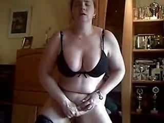 Amateur Big Tits Chubby Homemade Masturbating  Natural Wife