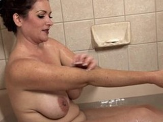 Bathroom Chubby Mature