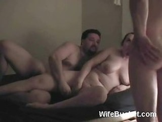 Funny Homemade Threesome