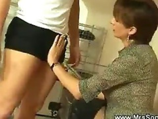 Mistress Bonds And Wanks A Cock