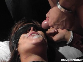 Cumshot Fetish Swallow Wife