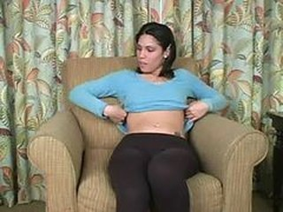 Latina Babysitter Wants To See It - Jerk Your Dick Of...