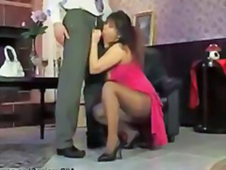 Great Pantyhose Fuck russian cumshots swallow