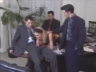 Hot Secretary lets all her Bosses fuck her...F