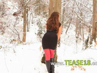 Outdoor Pantyhose Teen