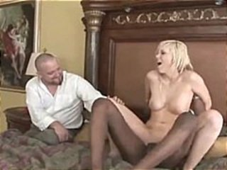 Blonde Wife As She Goes Black Cock,By Blondelover.