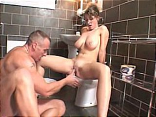 Babe Big Tits Natural Teen Toilet
