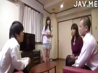 Asian Daughter Family Japanese