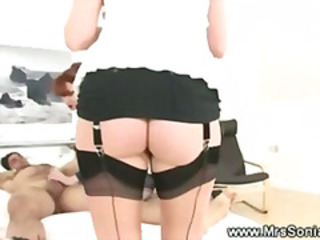 Ass  Stockings Threesome